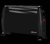 Freestanding Convector Heater 2kW - Black