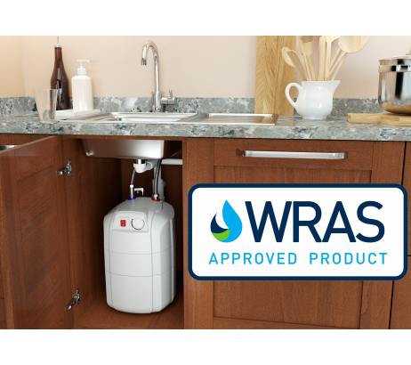 ELDOM 7 – 15 liters water heaters range has received the WRAS approval (certificate No. 1806315)