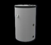 Warmwasserspeicher stehend mit Wärmetauscher für Gasanlagen (TST), 150 l.