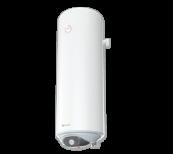 Calentador de agua 80 L, con elemento calentador de cerámica, 2 kW, esmaltado, pequeño diámetro