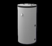 Warmwasserspeicher stehend mit Wärmetauscher für Gasanlagen (TST), 200 l.