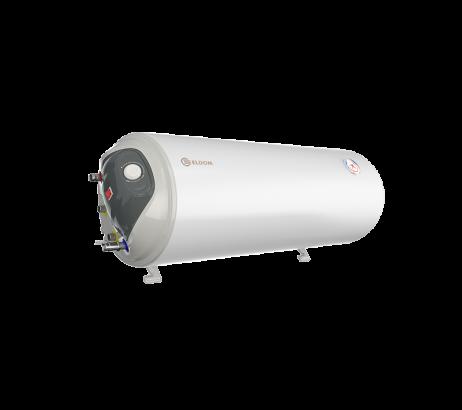 Комбиниран бойлер 80M2, лява серпентина, хоризонтален, емайлиран