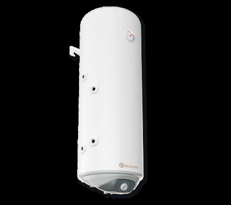 Kombi-Warmwasserspeicher 80L, Serpentine unten, emailliert, kleiner Durchmesser