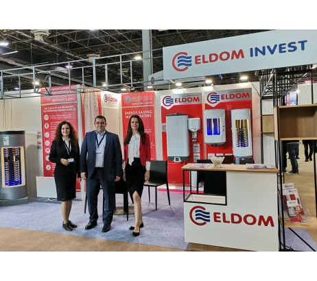 ELDOM with a successful presentation of HUNGAROTHERM 2019, Budapest
