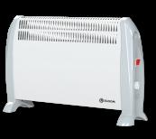 Freistehender Konvektor 2kW - Weiß
