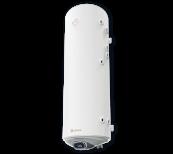 Комбиниран бойлер 150 л, с електронно управление, две десни серпентини, неръждаем