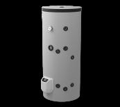 Kombi-Standspeicher 200L, Mit einem Wärmetäuscher, elektronische Steuerung, emailliert