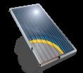 Слънчев колектор плосък, с алуминиев оребрен абсорбер, 2,5 кв. м