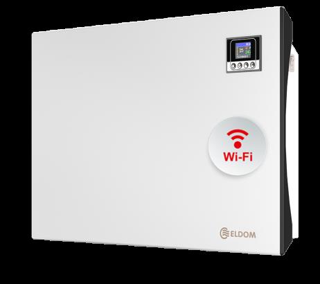 Стенен конвектор с електронно управление и wi-fi, 1500 W