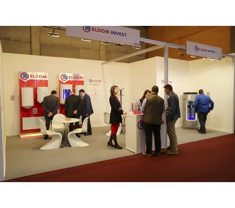 ELDOM IS ONE OF THE LEADING MARKS PRESENTED ON THE CLIMATIZACIÓN 2019