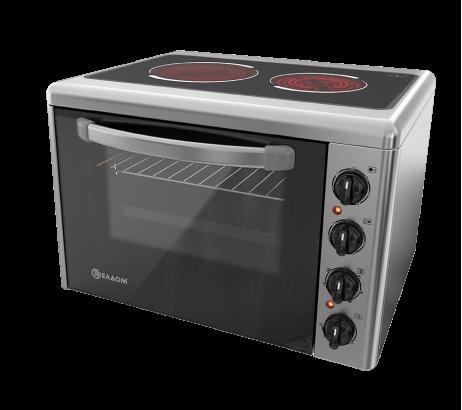 Готварска печка със стъклокерамичен плот 201VFB